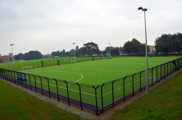 The £430,000 project will help the school improve its sports programmes