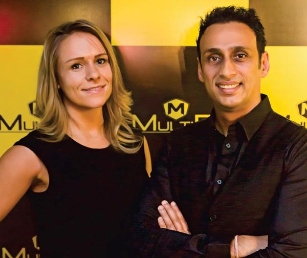 Dr Samir Kapoor and his partner Sally Jones-Kapoor