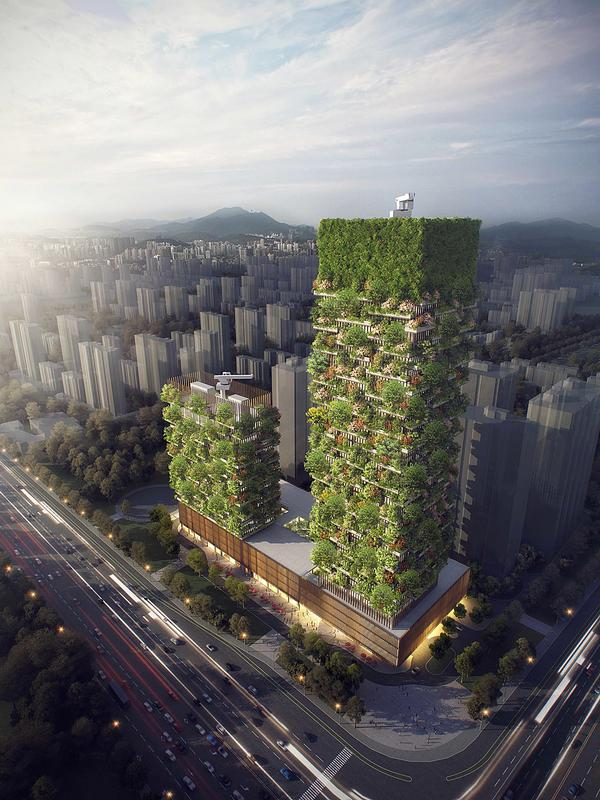 Stefano Boeri is working on a number of major green schemes in China