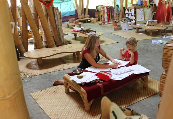 Ibuku has built 15 of the  school's classrooms / PHOTO: Manuel Gomes da Costa