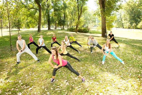 GPs could potentially refer patients to support groups like exercise classes in parks and green spaces / Shutterstock.com/Lucky Business