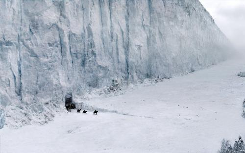 The Wall is one of the focal points of Game of Thrones / HBO