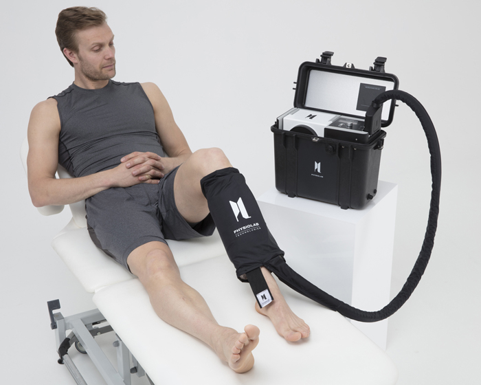 The S1 is a portable unit designed to deliver therapeutic treatments for sports injuries
