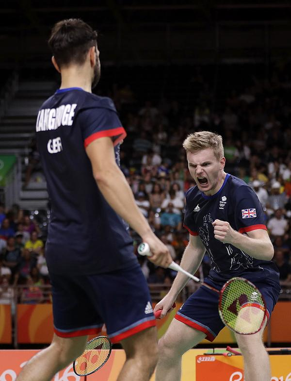 Badminton suffers from the lack of media it usually gets, but the Rio Games brought the sport more attention / kin cheung / Press Association