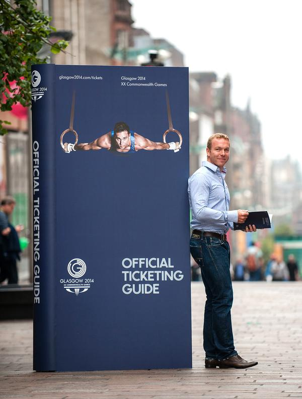 Chris Hoy retired in April 2013, but remains an ambassador for Glasgow 2014