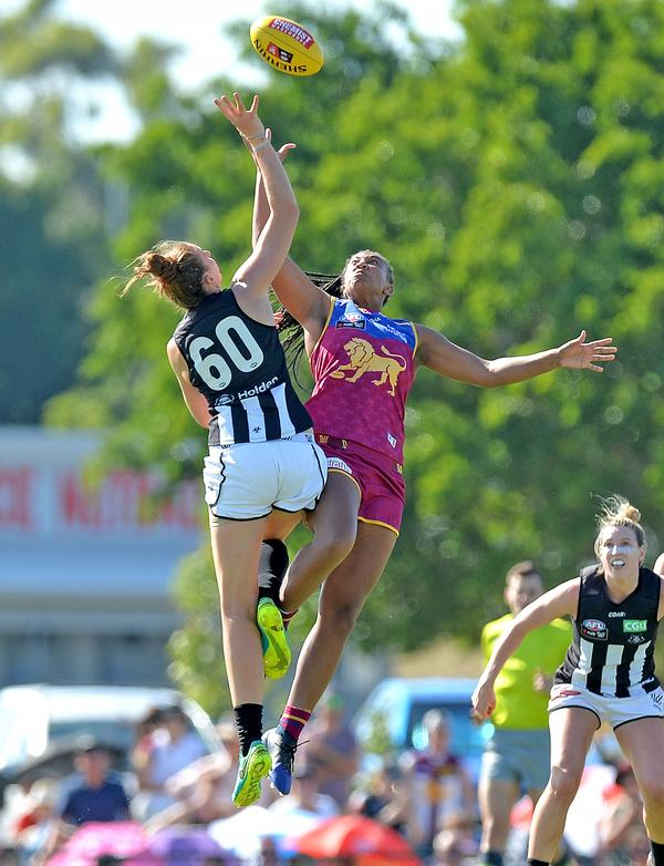 The public's positive reaction to the AFLW league shows there is a demand for women's sport