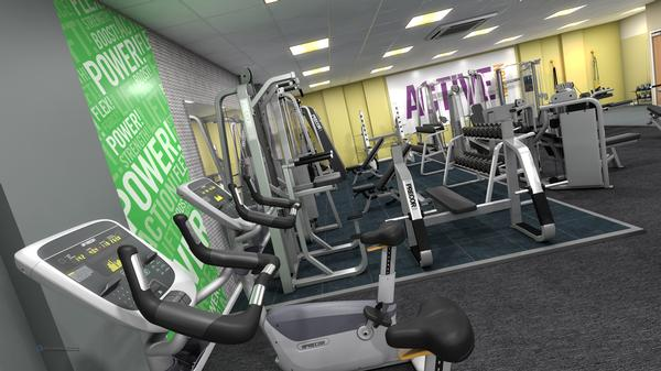 Gym zoning allows for shorter, targeted sessions