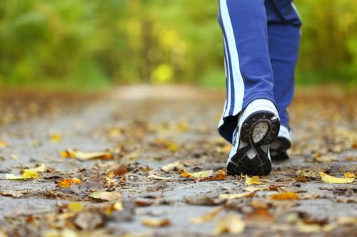 Walking is becoming the focus of a number of proposed efforts to help treat certain conditions / Shutterstock.com/Anetlanda