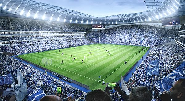 Tottenham FC's new stadium will also be used for NFL matches