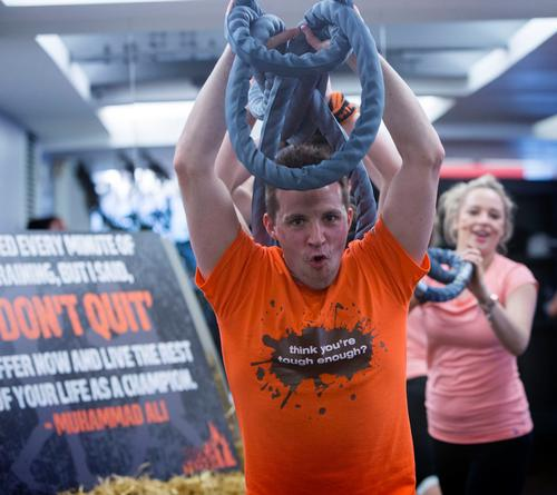 The first output of the Discovery Lab will be the 'Mudder Maker' class, the result of Virgin Active's recent tie-up with obstacle course race Tough Mudder