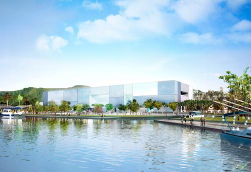 The aquarium – designed by Foster + Partners – will open in 2018 / Foster + Partners