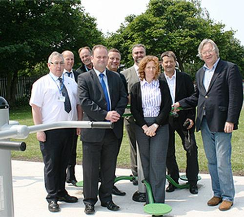 Sefton Council launches new outdoor gyms