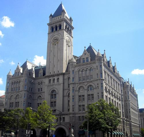 Work starts on Donald Trump's Old Post Office Building hotel  and spa in May