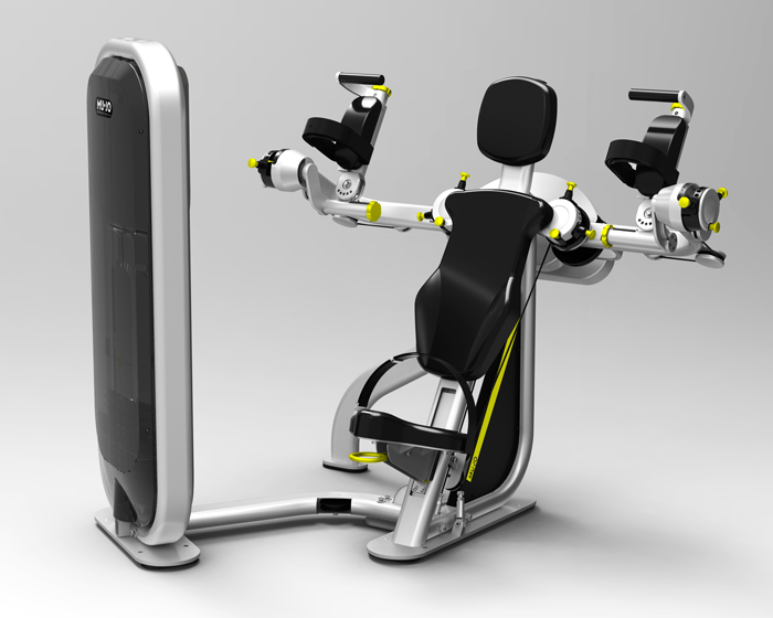 Unique fitness machines offer improved rehabilitation