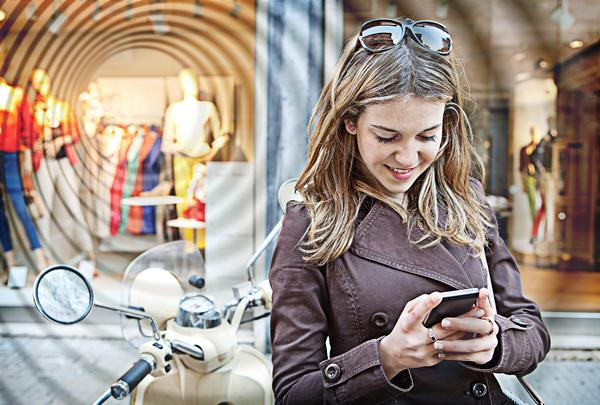Beacons know within inches where users are, so you can precisely target your marketing