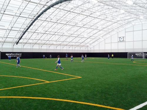 The indoor 3g pitch at the Inverclyde National Training Centre / Inverclyde National Training Centre