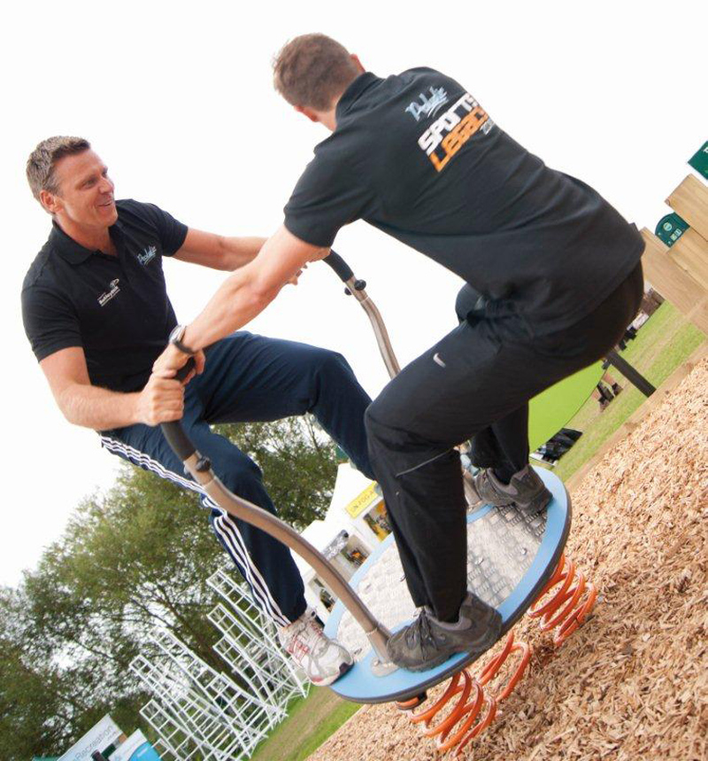 Outdoor fitness zone increases activity levels in Watford