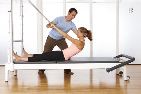 Alongside reformer classes, there needs to be a standing element for bone health / Photo: body control pilates