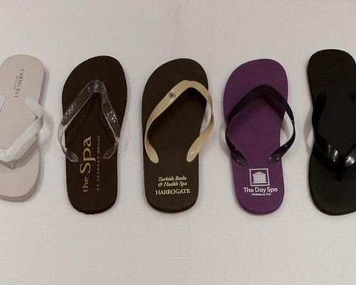 Spas see value of flip flops as footwear