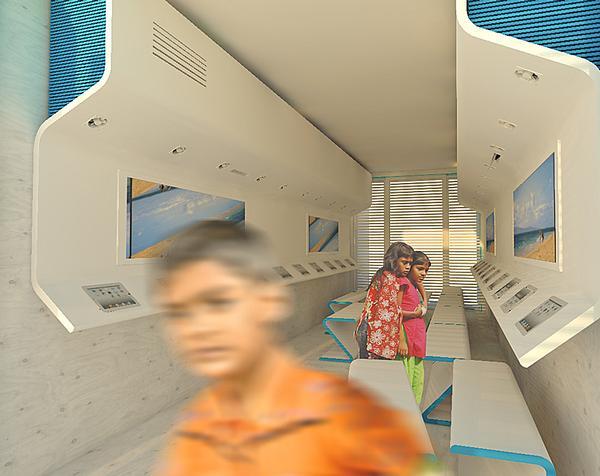 Waterstudio is trialling its floating slum school initiative in Bangladesh
