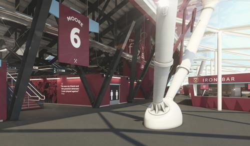 Two of the stands will carry the names of former West Ham legends