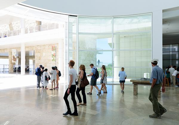 Natural light floods the Getty Center / Shutterstock/ Hayk_Shalunts