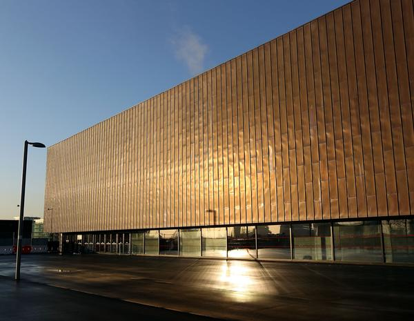 The venue's simple, yet striking design has contributed to iit becoming an iconic landmark at the Olympic Park