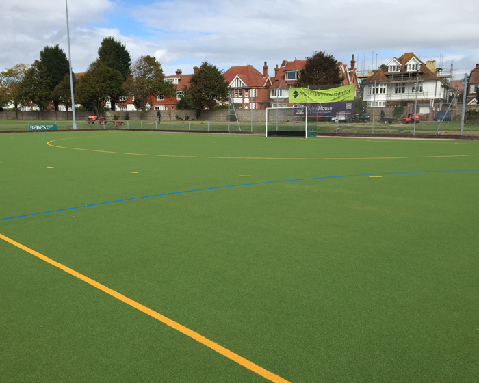 New hockey pitch for Eastbourne club