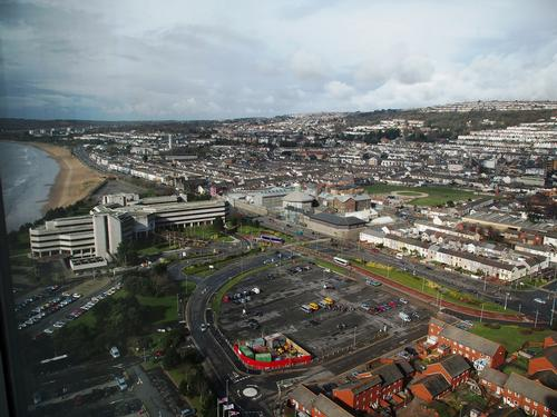 Swansea city centre could be the subject of a major regeneration project / Flickr.com Gareth Lovering Photography
