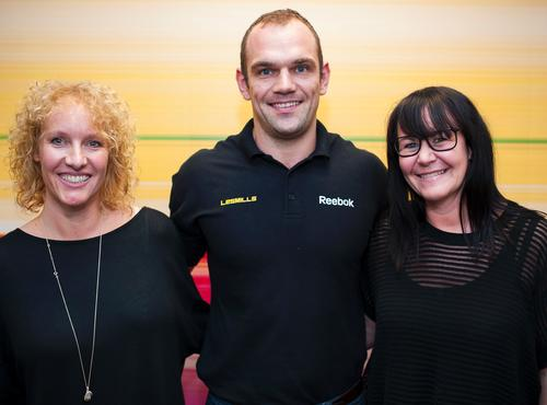 (L-R) New recruits Justine Williams, Dave Alstead and Natalie Prescott