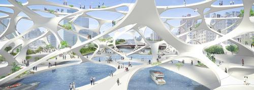Akihisa Hirata's design for Foam Form / Akihisa Hirata Architecture Office