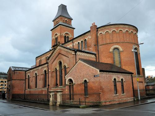 The extension will be added to the existing St Peter's church building, which was built in 1859 / Robert Cutts