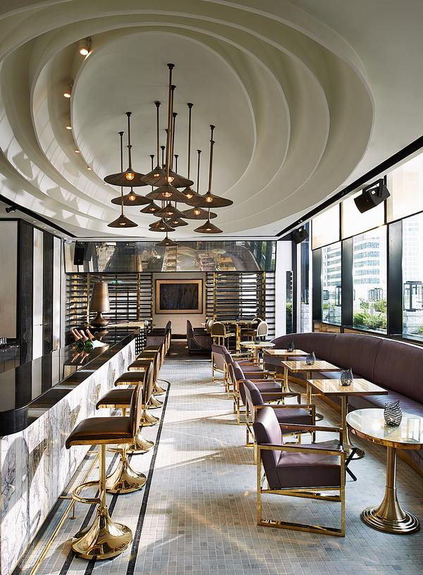 The Vogue Lounge launched on the top floor of the MahaNakhon Cube in Bangkok in 2014