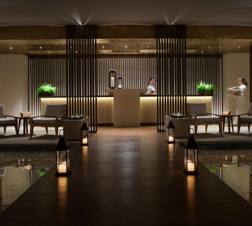 The spa concept is centred on the principles of simplicity, purity and well-being