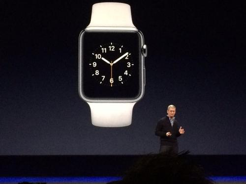 Tim Cook revealed the Apple Watch last year, which signalled a big breakthrough for the smartwatch market
