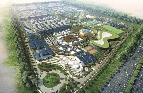 Baharash Architecture was appointed as lead designer for The Sustainable City, providing master planning, architecture and landscaping, concept design and schematic design / Baharash Architecture