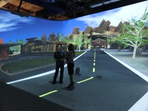 "Disney says virtual reality ""cave"" is the future of immersion technology"