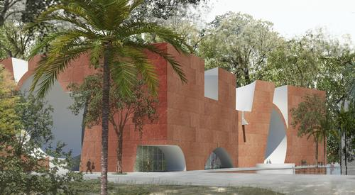 Steven Holl and Opolis Architects' winning design for the Mumbai City Museum / Steven Holl Architects and Malcolm Reading Consultants