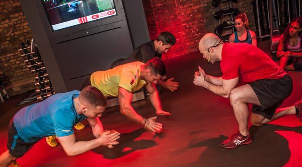 The Beat focuses on heart rate-based training