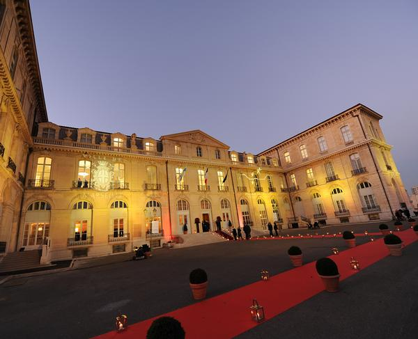 The Palais du Pharo is situated in the  colourful French port city of Marseille