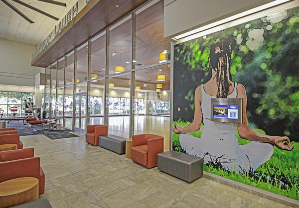 The Gainesville club operates like a 'wellness mall'