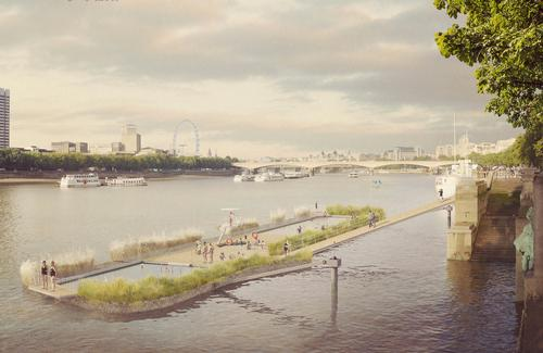 The project aims to open up access to London's largest public space – the River Thames / Studio Octopi