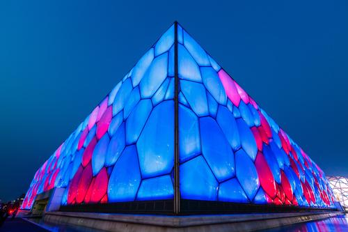Beijing will utilise many of the 2008 venues - such as the Watercube - during the 2022 Winter Games