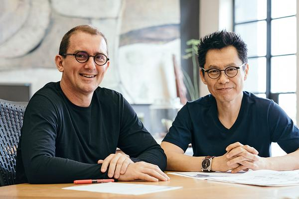 WOHA founders Richard Hassell and Wong Mun Summ / Image: Studio Periphery