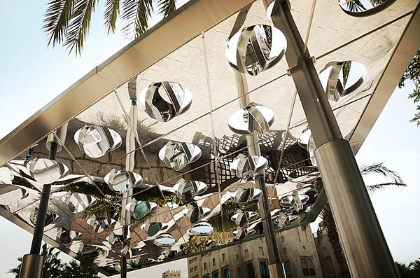Sun&Shade: traditional architectural shading gets a digital twist