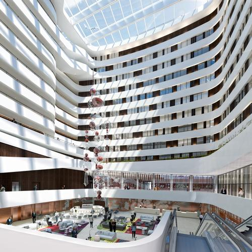 The hotel opened on 17 December / Hilton Hotels and Resorts