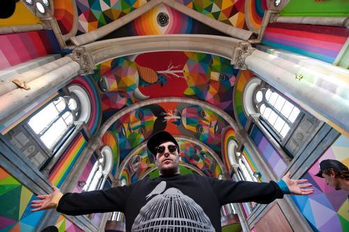 The murals were created in just seven days / The Church Brigade