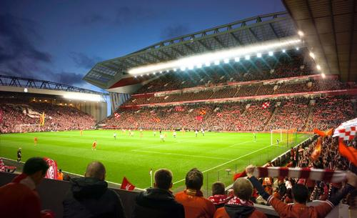 Construction will begin next year for completion by the 2016-17 season / Liverpool FC/KSS Group