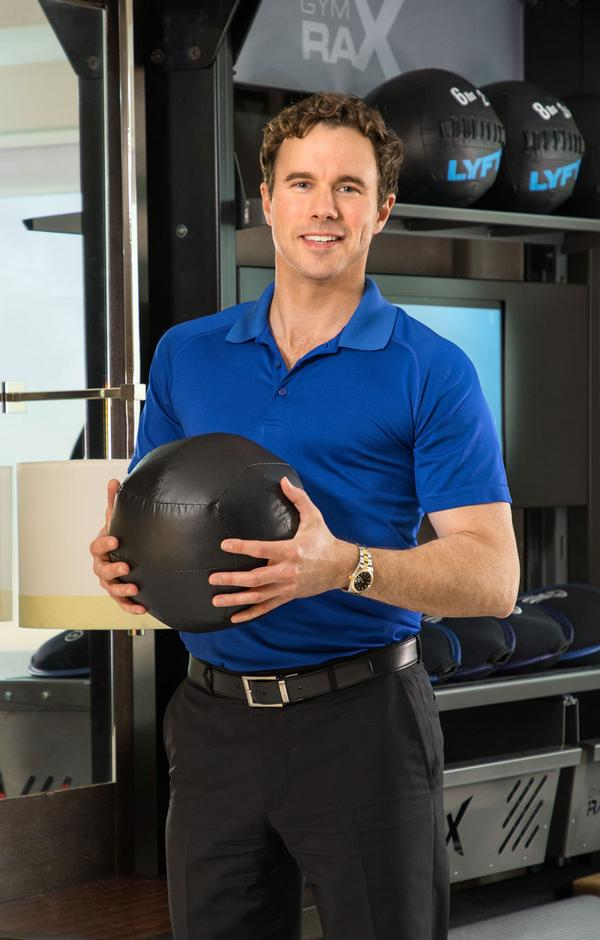 Ryan Crabbe says innovation in fitness is a major focus for Hilton Hotels