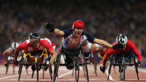 GB's paralympians won 120 medals at London 2012